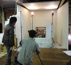 2012年度雛人形カタログ写真撮影